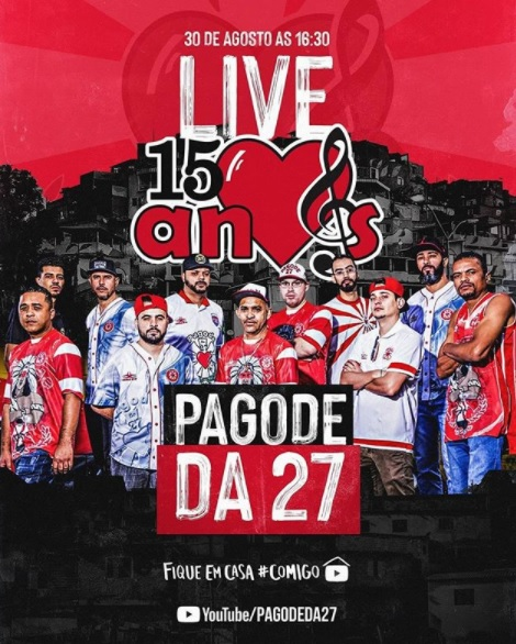 pagode27 20anos